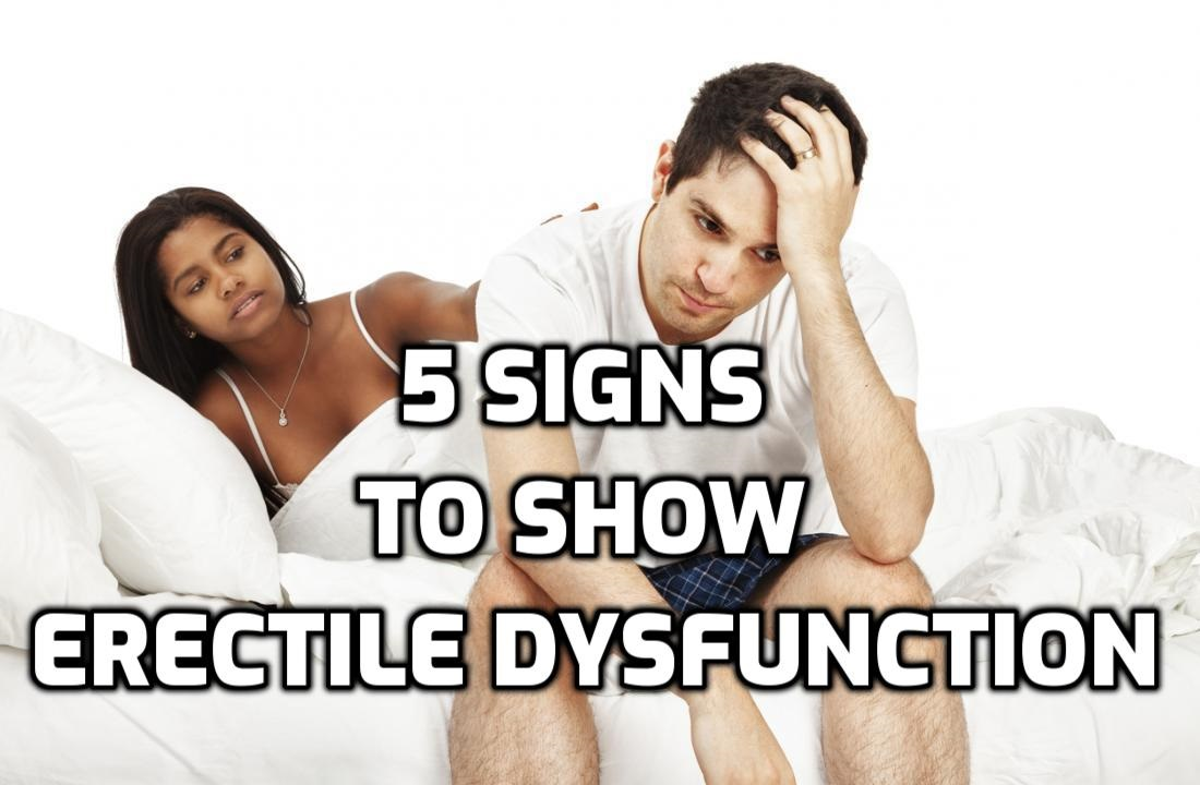 "image for article: ""5 signs to show erectile dysfunction"""