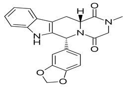 Cialis structure (Tadalafil)