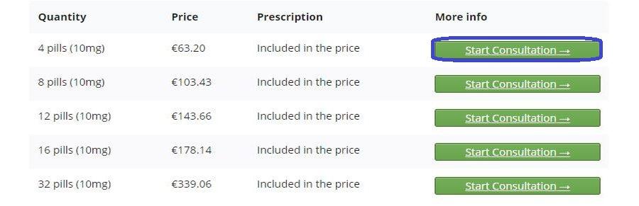how to buy spedra step 1