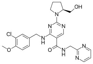 Chemical structure of Spedra.